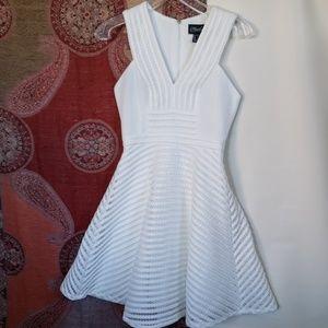 Adrianna Papell Hailey skater sleeveless dress 0